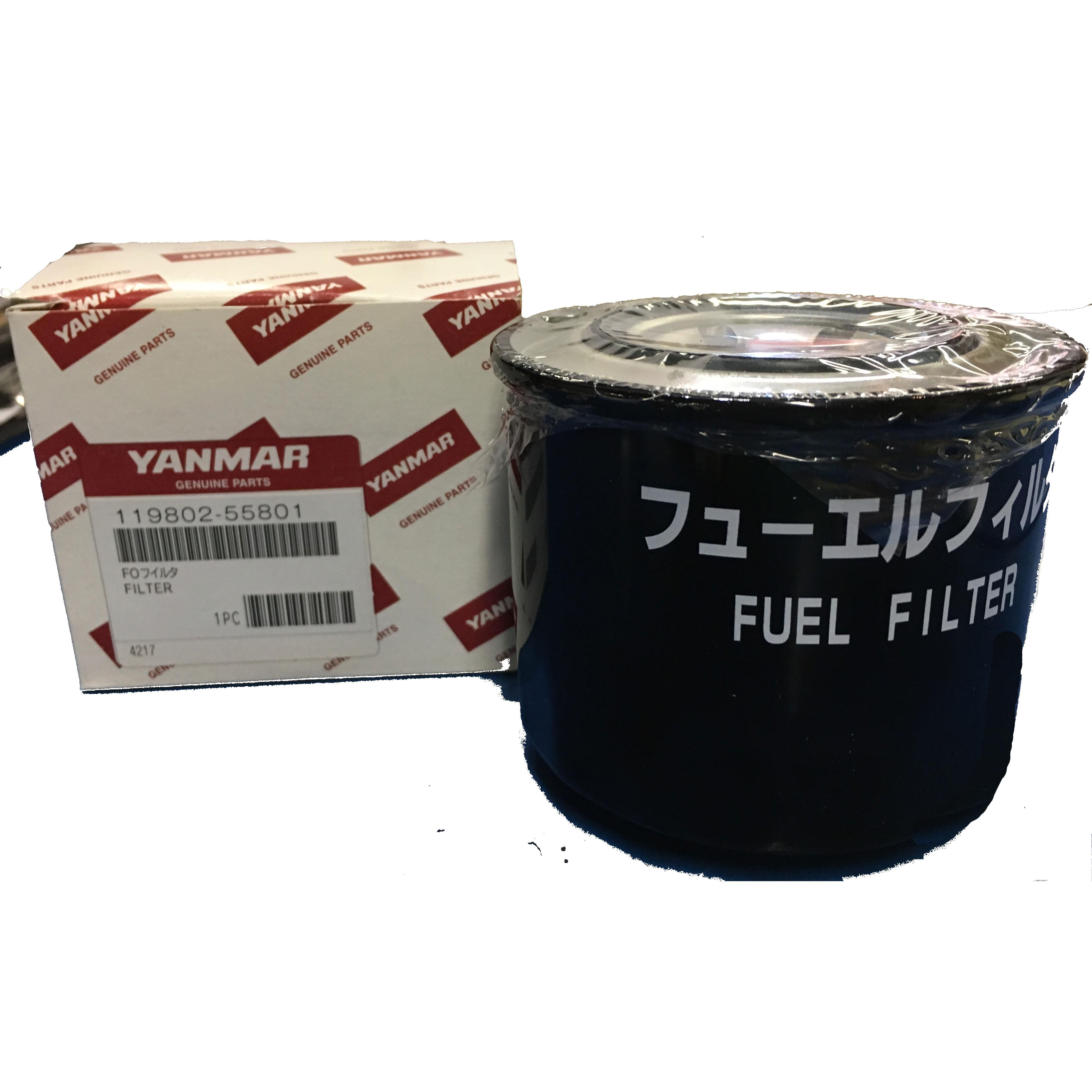 Yanmar 119802-55810, 119802-55801 Fuel Filter ...
