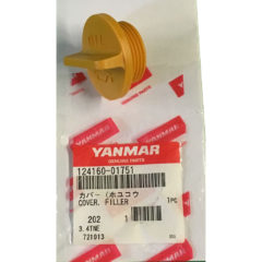 Yanmar 124160-01751 CAP OIL Engine Filler