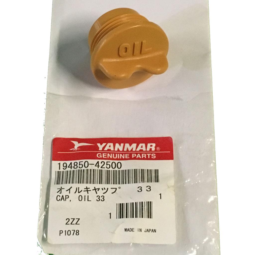yanmar 194850-42500 cap oil m33