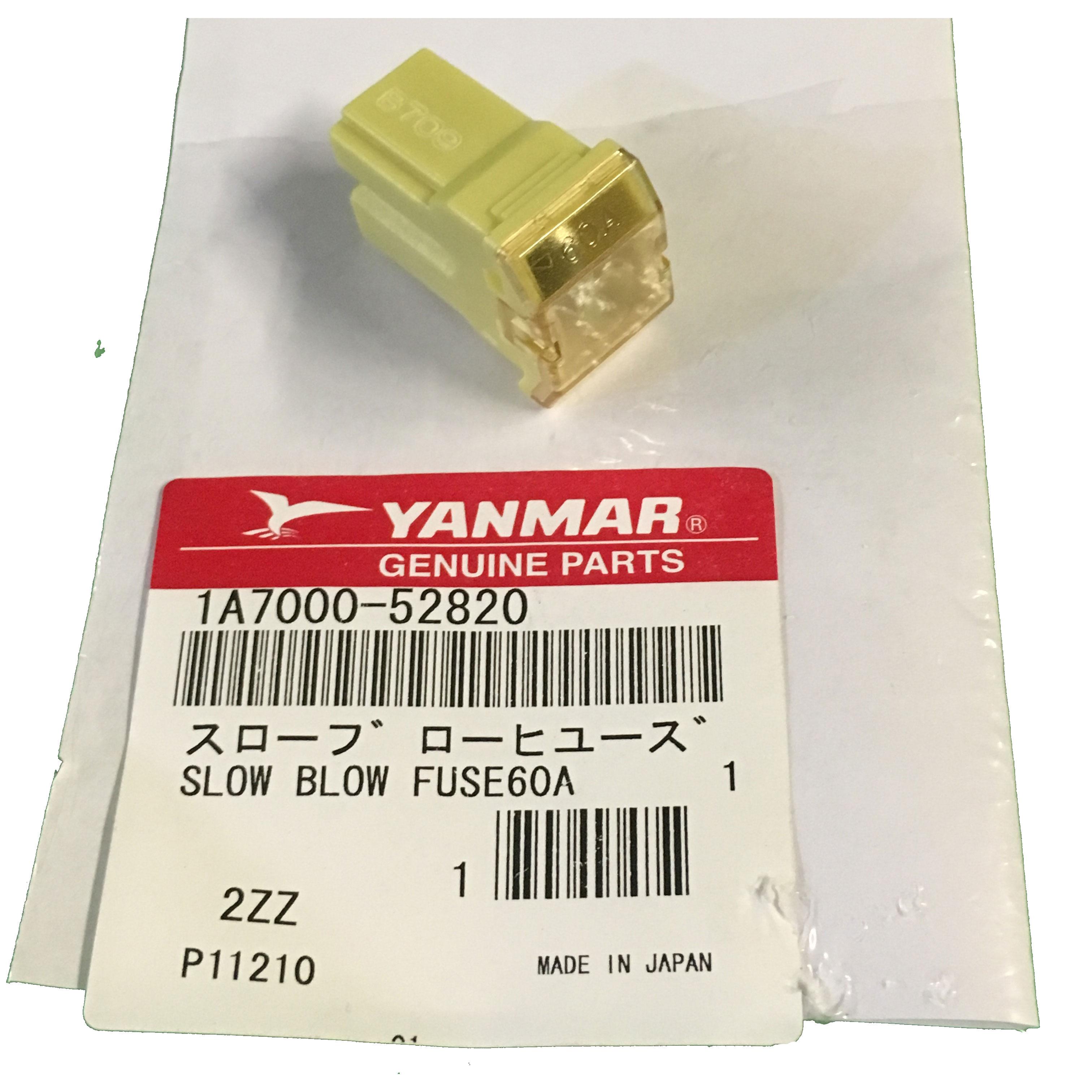 Yanmar 1a7000 52820 Fuse 60a Slow Blow Cub Cadet Power