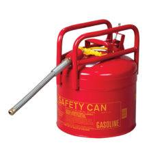 CAN, FUEL TRANSPORT. DOT APPROVED 5GAL, RED – Oregon 1215R