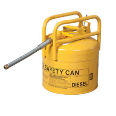 CAN, FUEL TRANSPORT. DOT APPROVED 5GAL, YELLOW – Oregon 1215Y