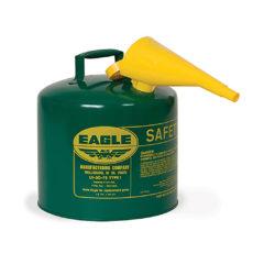 FUEL CAN, COMBUSTIBLE, 5GAL, GREEN, METAL – Oregon UI-50-FSG