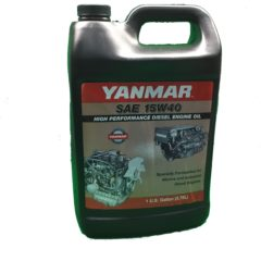 Yanmar SAE 15W40 High Performance Diesel Engine Oil 41540G – Gallon