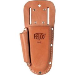 Felco 910 Plus – Genuine Leather Holster w/ Belt Loop, Clip & Sharpener Pocket